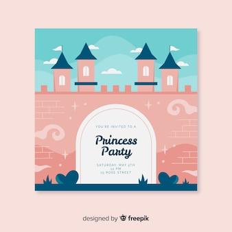 Invito alla festa principessa