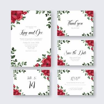 Invito con carta di matrimonio