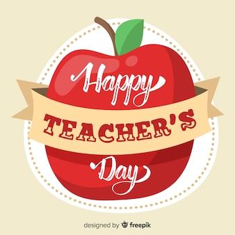 Iscrizione della giornata mondiale degli insegnanti