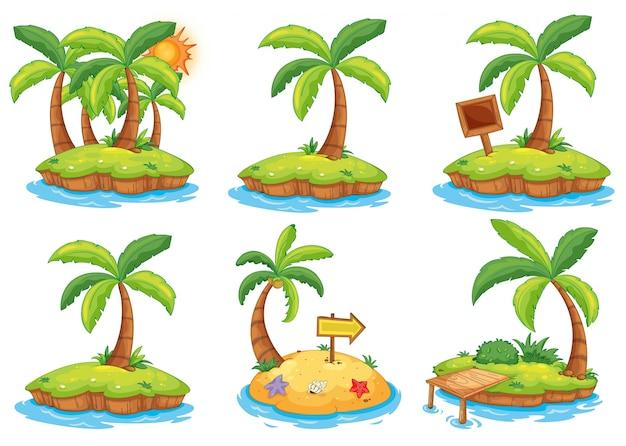 Isole con segni diversi