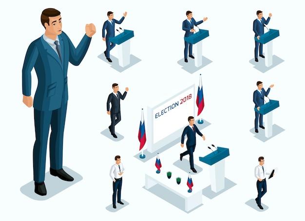 Isometrici signor presidente, votazione, elezioni, dibattito.
