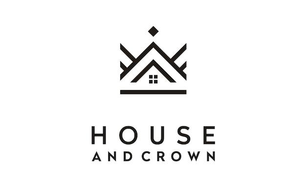 Ispirazione al design del logo di crown house