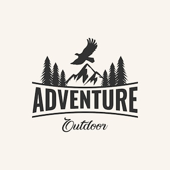 Ispirazione logo design avventura,