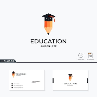 Ispirazione logo educazione