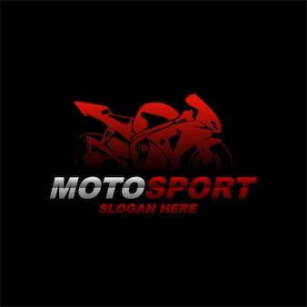 Ispirazione per il design del logo moto.