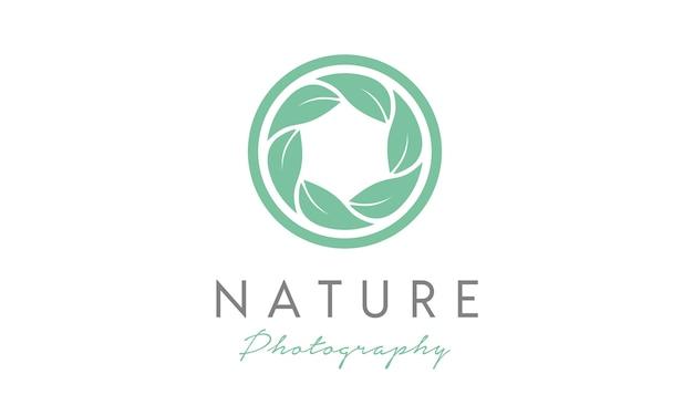 Ispirazione per la progettazione del logo di nature photographer