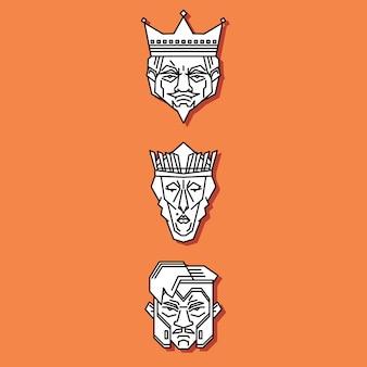 Jack queen king