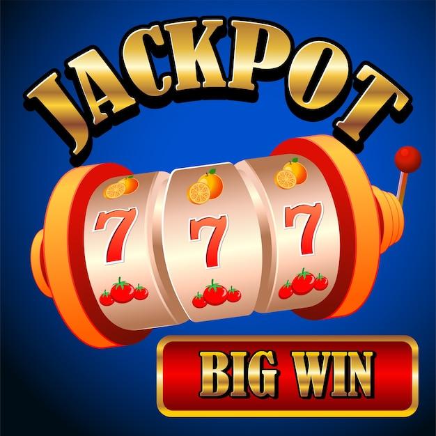 Jackpot di chip e carte realistico per il gioco del casinò