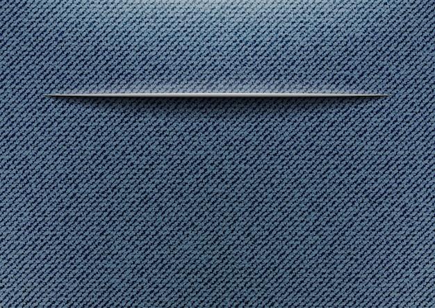 Jeans con taglio