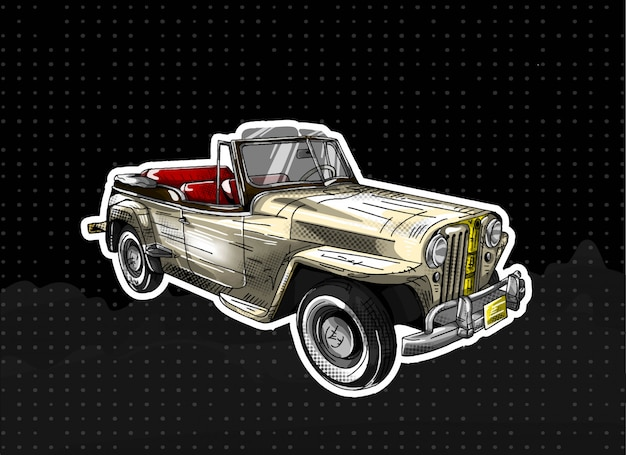 Jeepter terrestre di willys