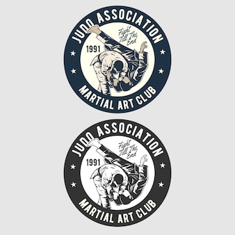 Judo badge logo