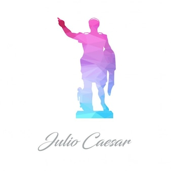 Julio casar poligonale