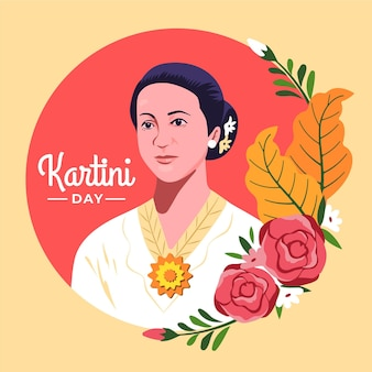 Kartini day concept