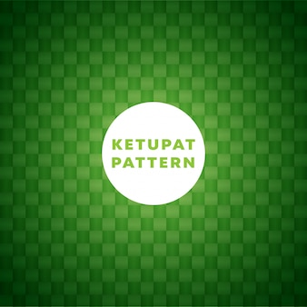 Ketupat pattern background
