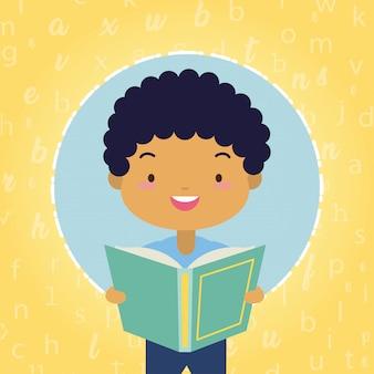 Kid nella giornata mondiale del libro