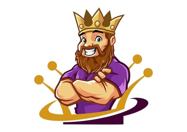 King john mascot design
