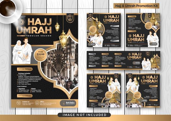 Kit di promozione Umroh e Hajj
