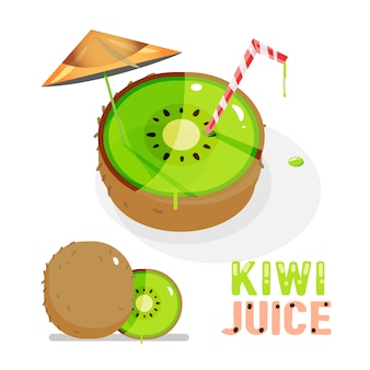 Kiwi. succo .