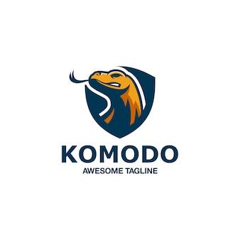 Komodo esport logo fantastica ispirazione