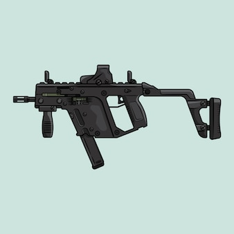Kriss vector in design piatto
