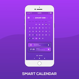 L'app calendario intelligente funziona