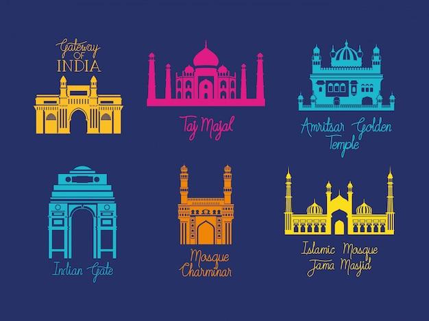L'architettura indiana dei templi