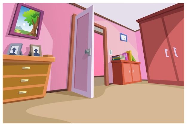 L'area all'interno della casa