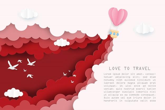 L'illustrazione creativa ama viaggiare