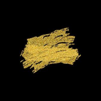L'oro brilla sfondo glitter.