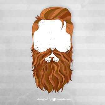 L'uomo con la barba