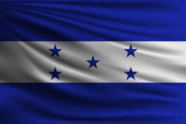 La bandiera nazionale dell'honduras.