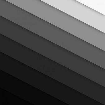 La bella papercut fa un passo fondo grigio