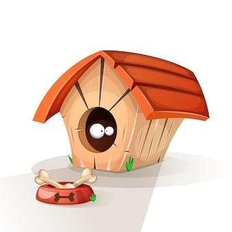La casa del cane, animali mangia l'illustrazione.