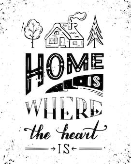 La casa è dove si trova il cuore