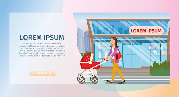 La concept acquista beni per bambini in baby store