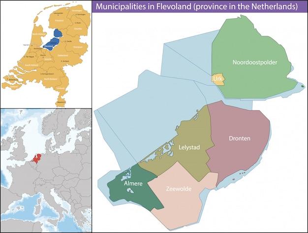 La frisia è una provincia del flevoland