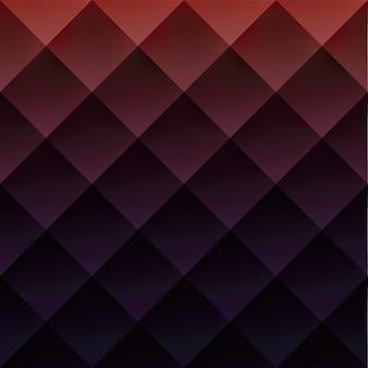 La geometria rossa ha strutturato la priorità bassa dell'illustrazione