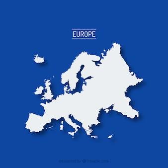 La mappa di europa