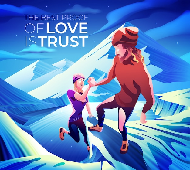 La miglior prova d'amore è la fiducia