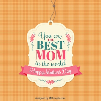 La migliore etichetta mamma
