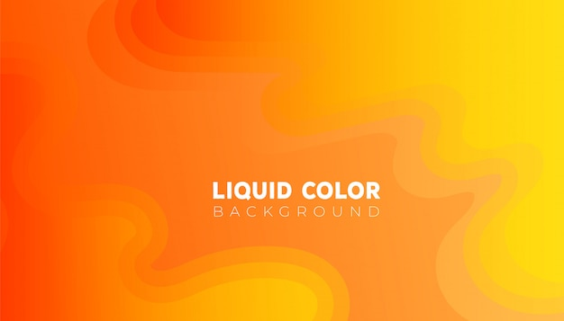 La pendenza liquida liquida astratta modella la priorità bassa della composizione
