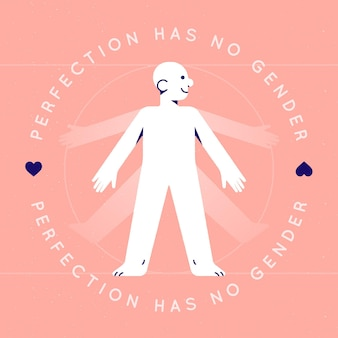 La perfezione del movimento neutro rispetto al genere non ha genere