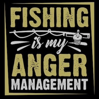 La pesca è la mia gestione della rabbia