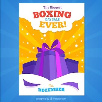 La più grande vendita giornata di boxe mai, manifesto