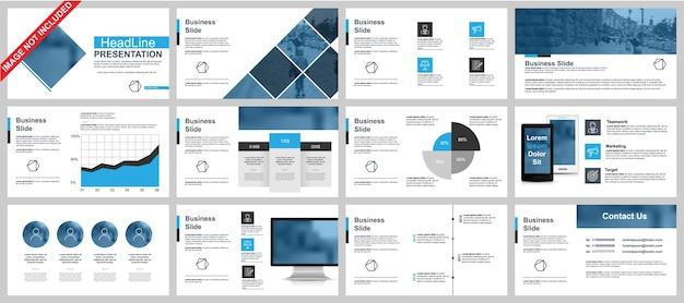 La presentazione di powerpoint in powerpoint scorre i modelli da elementi infografici.