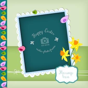 La progettazione di pasqua photo frame