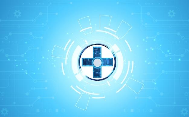 La scienza consiste nella salute e nella tecnologia digitale