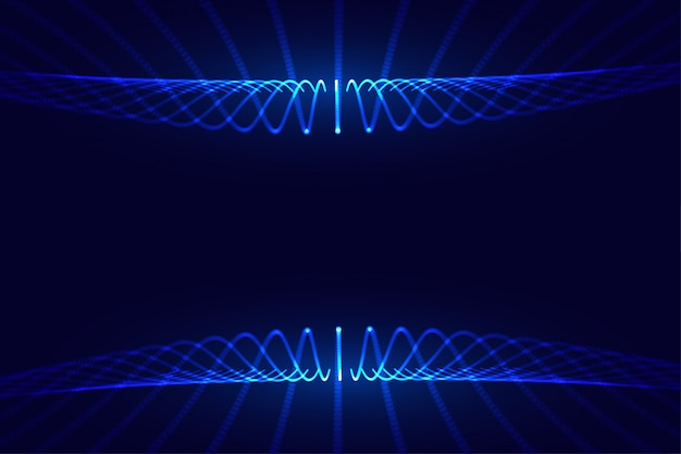 La tecnologia digitale che scorre particelle disegno sfondo mesh