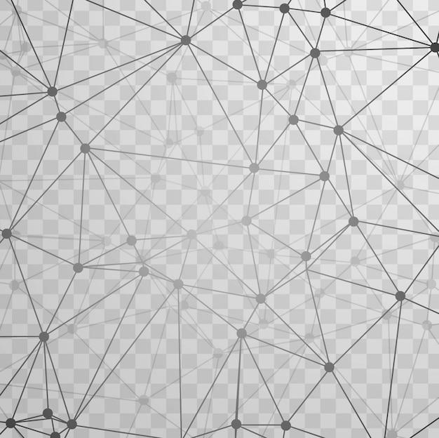 La tecnologia sfondo grigio