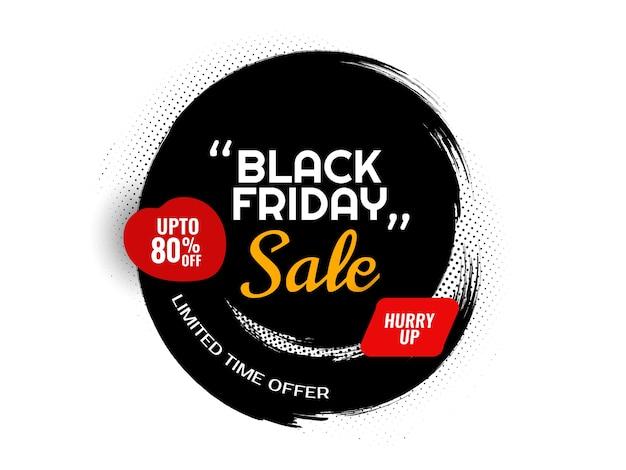 La vendita del venerdì nero offre sfondo